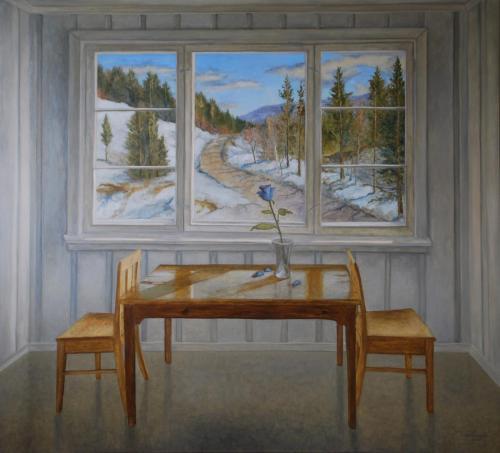 Blå Rose - 2016 - 145 x 160