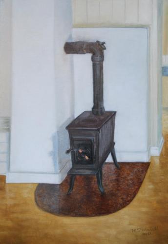 Gammel vedovn - 2011 - 50 x 35