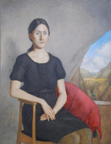 Portrett av Cecilie - 2015-17 - 110 x 85