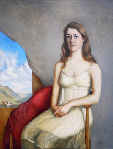 Portrett av Helene 2015-17 - 110 x 86